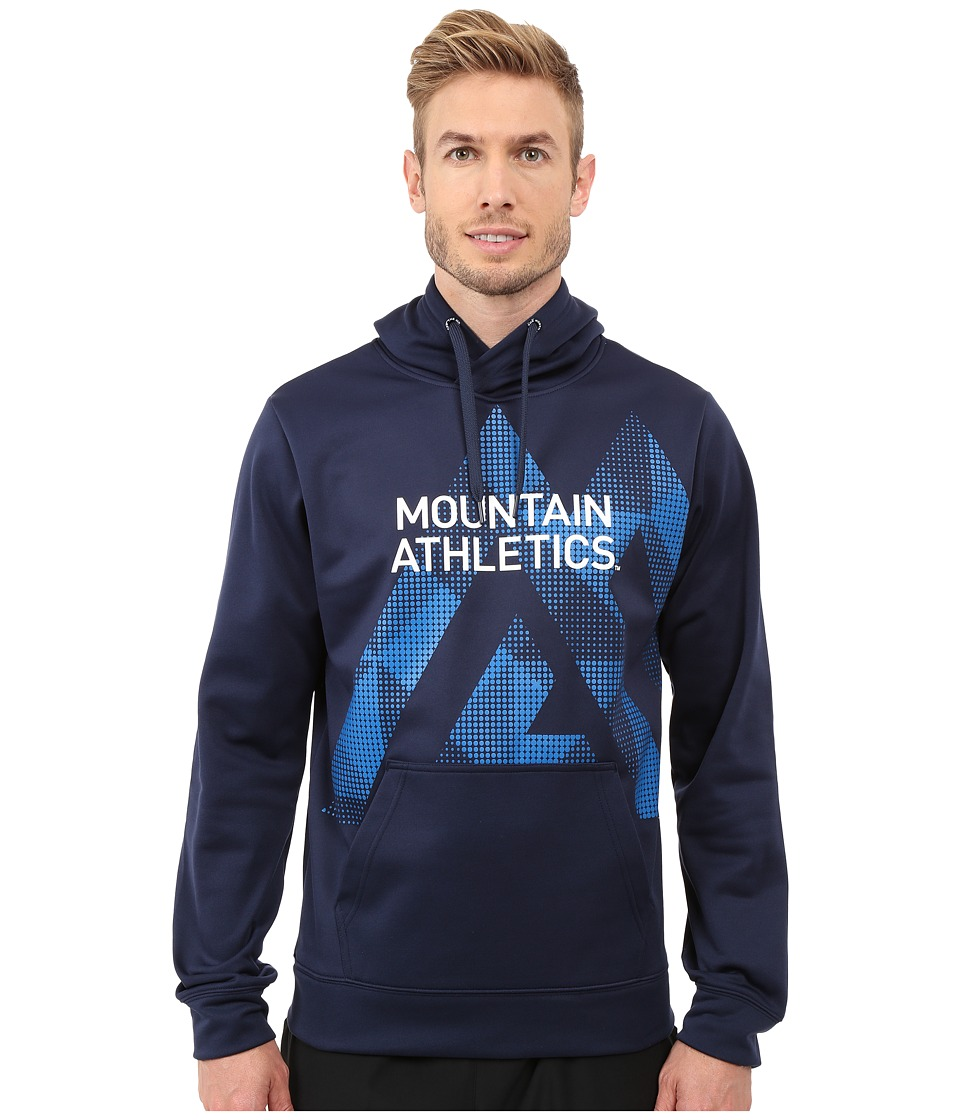 The North Face - MA Graphic Surgent Hoodie (Cosmic Blue/Bomber Blue) Men's Sweatshirt