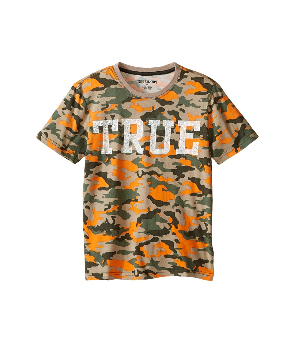 True Religion Kids - Camo Print Tee Shirt (Big Kids) (Camo) Boy's T Shirt
