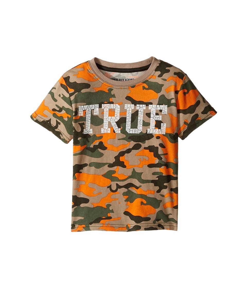 True Religion Kids - Camo Print Tee Shirt (Toddler/Little Kids) (Camo) Boy