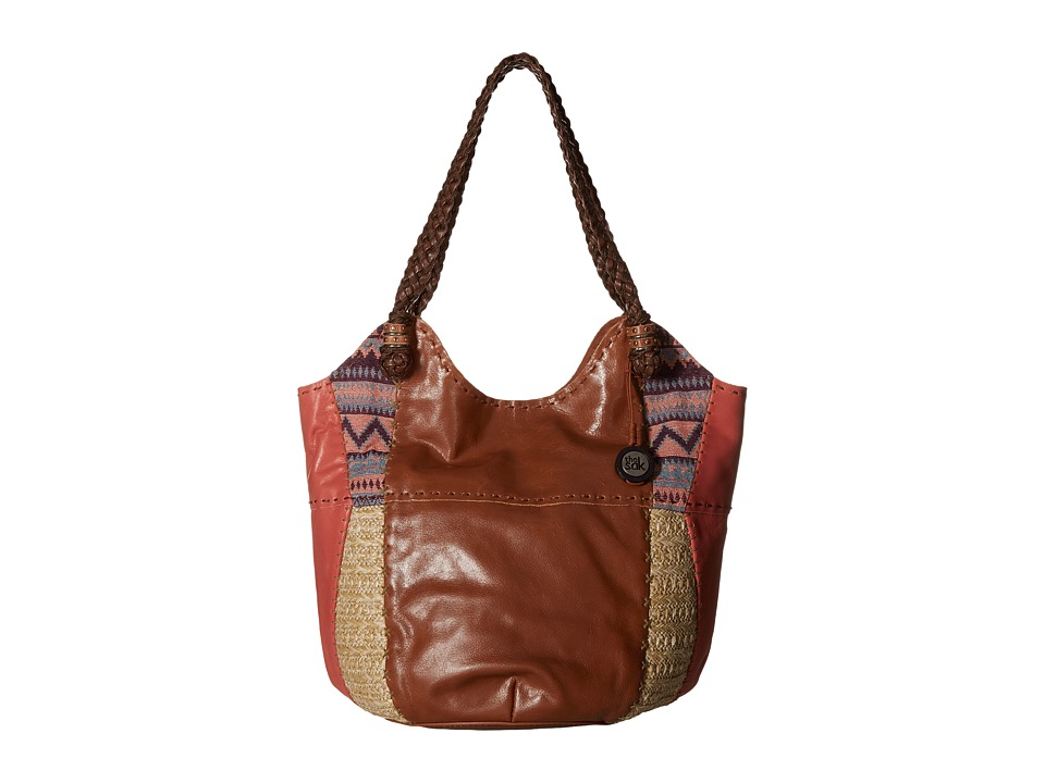 The Sak - Indio Large Tote (Guava Patch) Shoulder Handbags