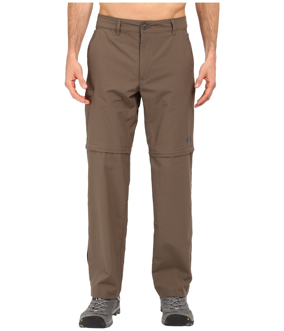 The North Face - Horizon 2.0 Convertible Pants (Weimaraner Brown) Men's Casual Pants