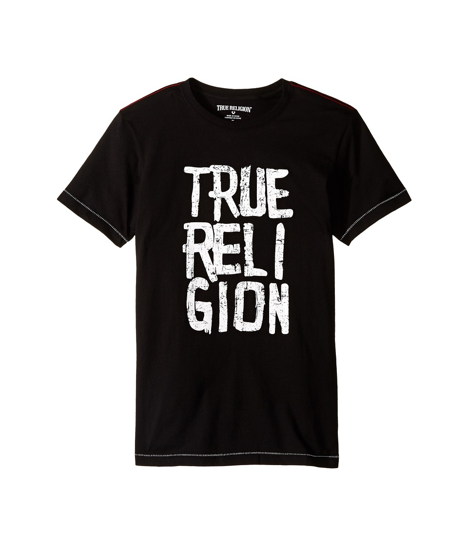 True Religion Kids - Chalk Tee Shirt (Big Kids) (Black) Boy