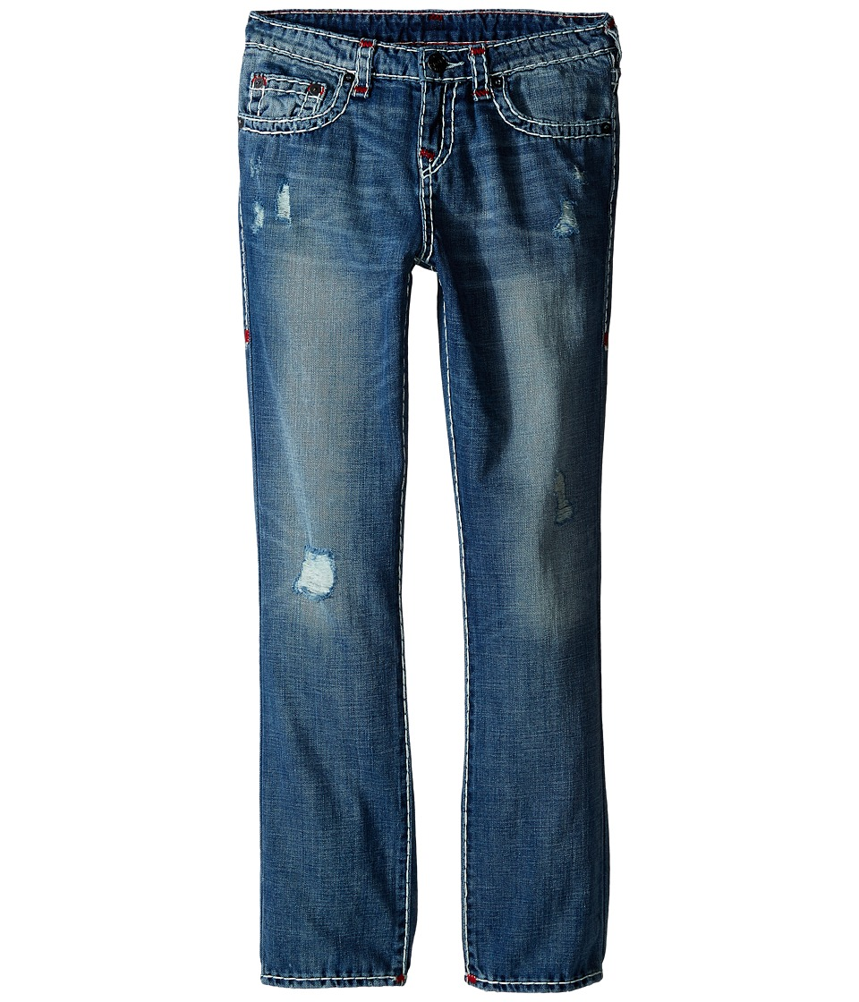 True Religion Kids - Geno Color Combo Super T Jeans in Engine Wash (Big Kids) (Engine Wash) Boy's Jeans