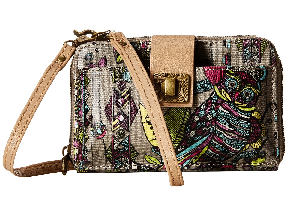 Sakroots - Artist Circle Smartphone Crossbody (Sterling Spirit Desert) Cross Body Handbags
