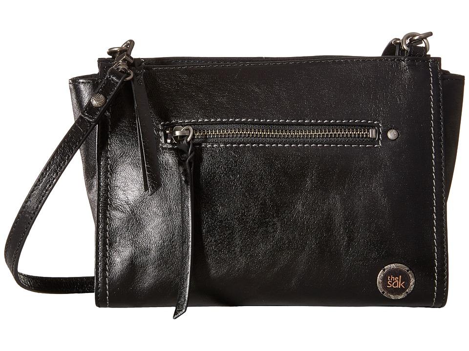 The Sak - Cabrillo Demi Crossbody (Black Onyx) Cross Body Handbags
