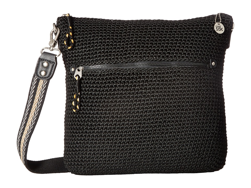 The Sak - Noe Crossbody (Black) Cross Body Handbags