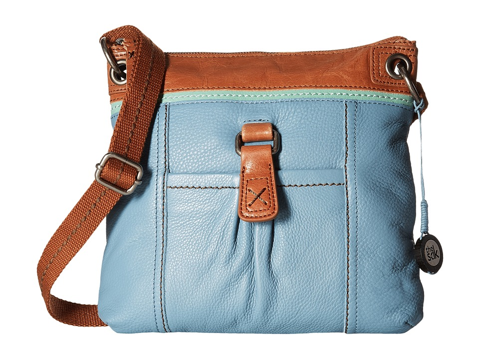 The Sak - Kendra Leather Crossbody (Harbour Block) Cross Body Handbags