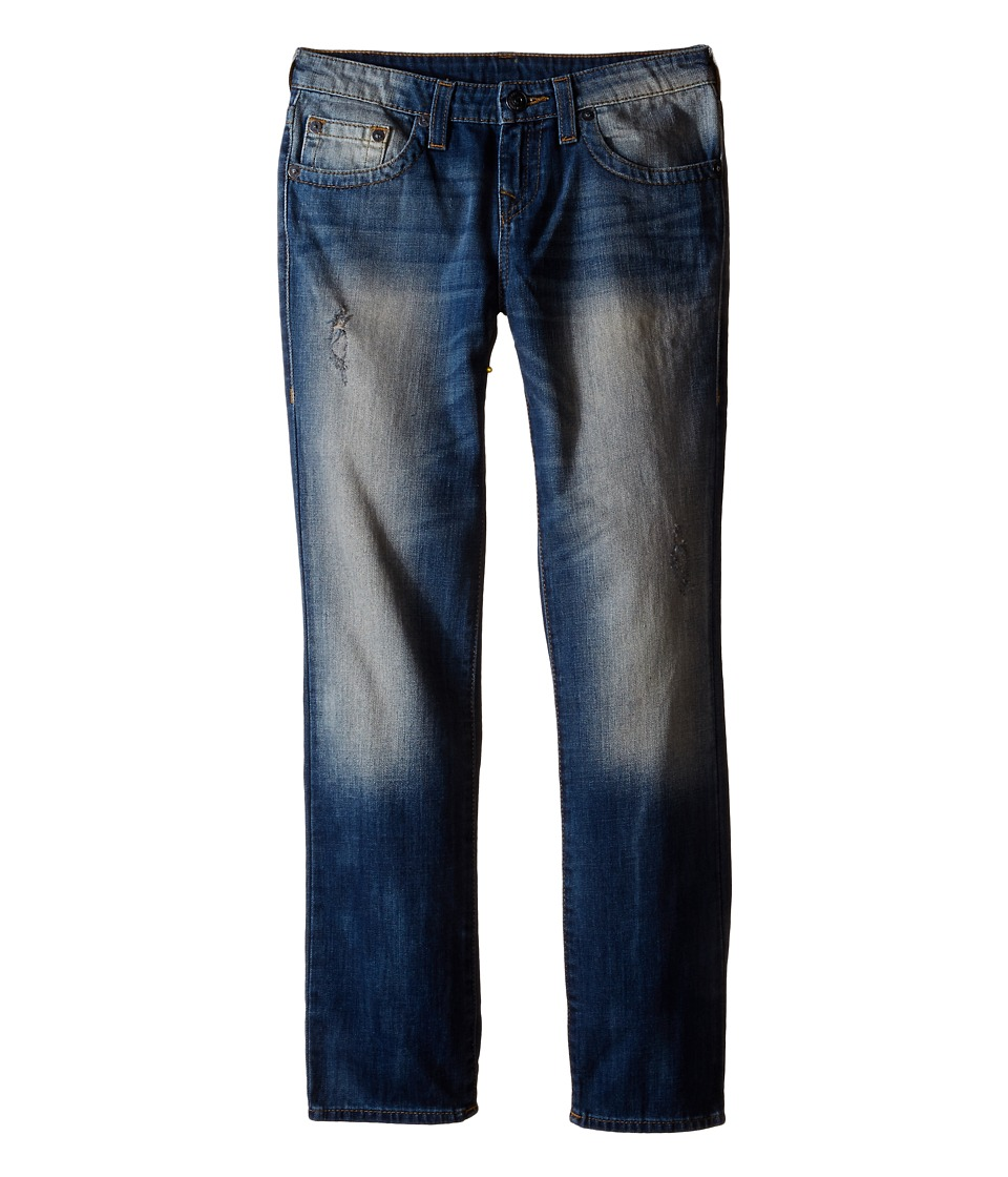 True Religion Kids - Geno Single End Jeans in Beaten Blue (Big Kids) (Beaten Blue) Boy's Jeans
