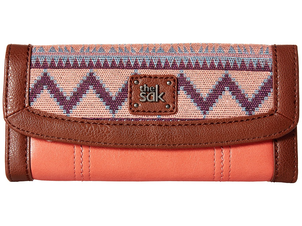 The Sak - Iris Flap Wallet (Guava Patch) Wallet Handbags