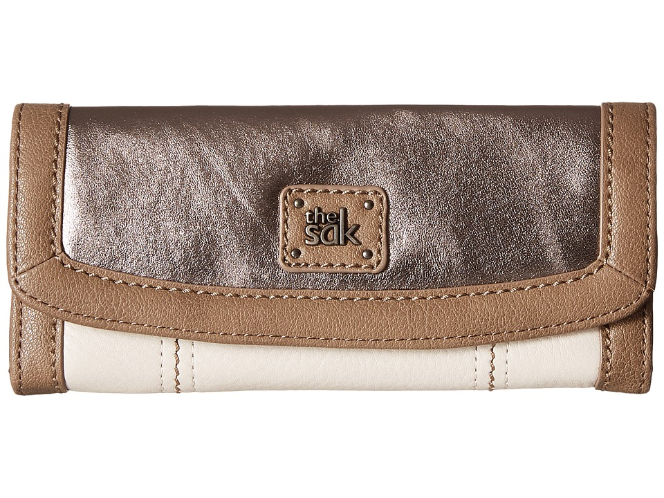 The Sak - Iris Flap Wallet (Cloud Sparkle Block) Wallet Handbags