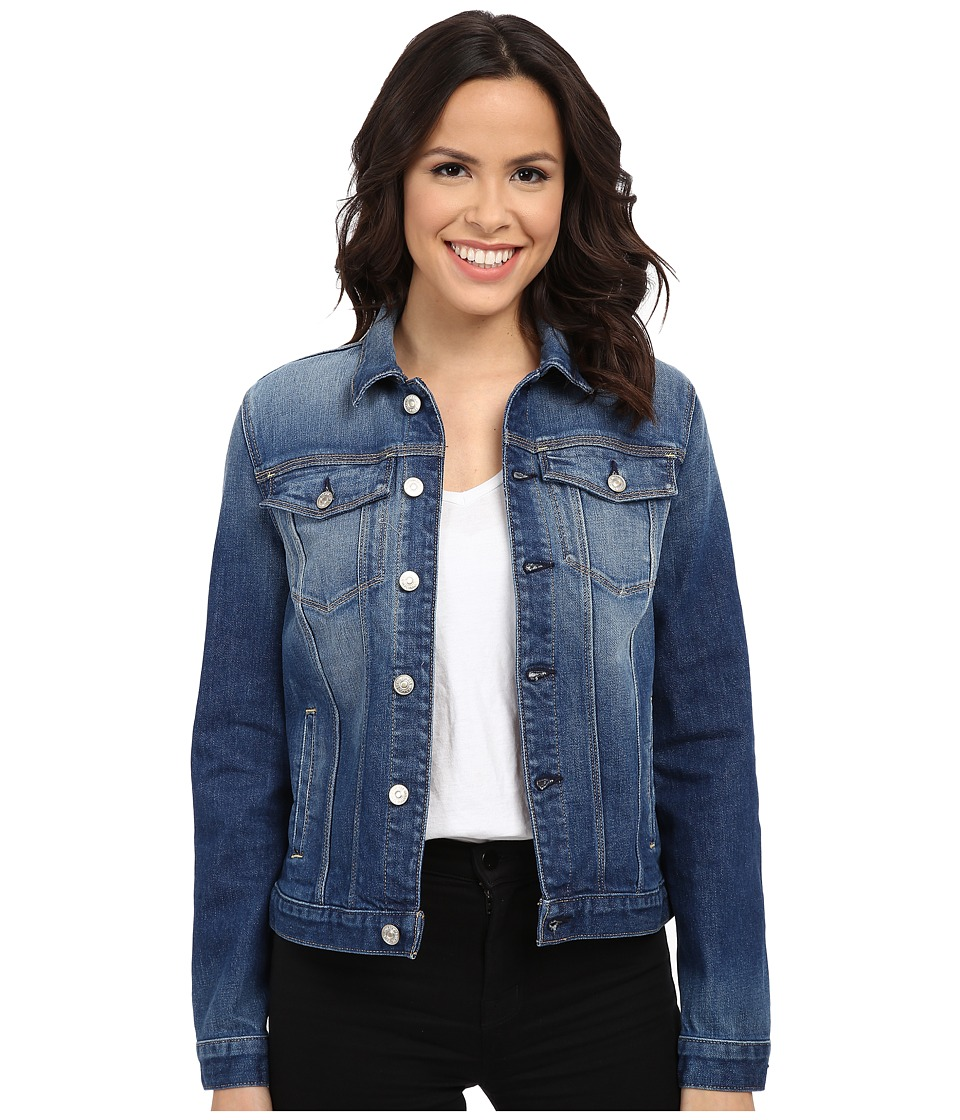 7 For All Mankind - Classic Denim Jacket (Aggressive Bright Indigo 3) Women's Coat