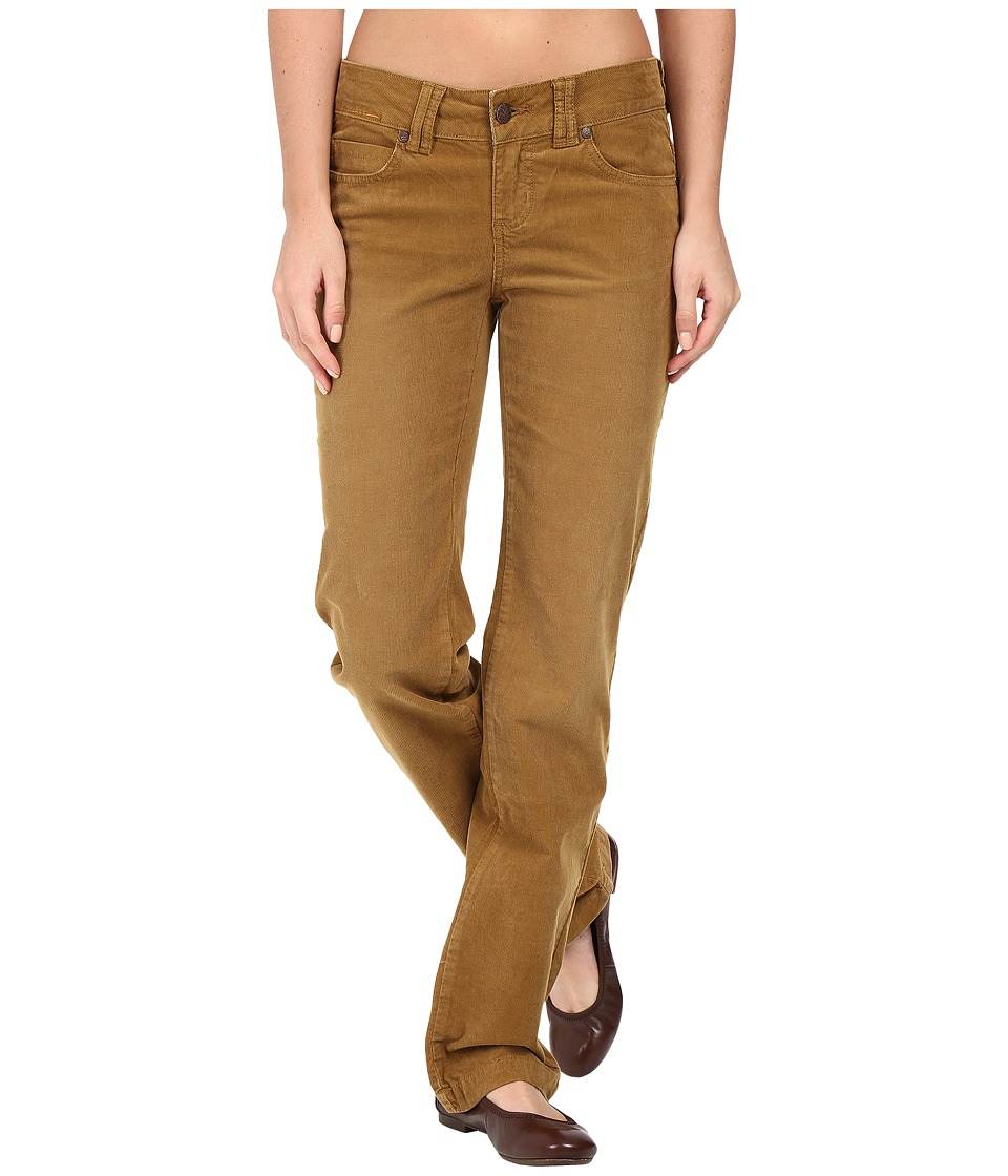 Prana - Crossing Corduroy Pants (Tortoise) Women's Casual Pants