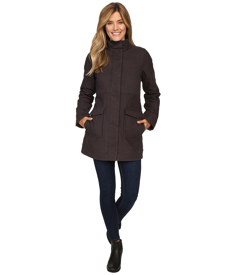 Prana - Trip Jacket (Charcoal) Women's Coat