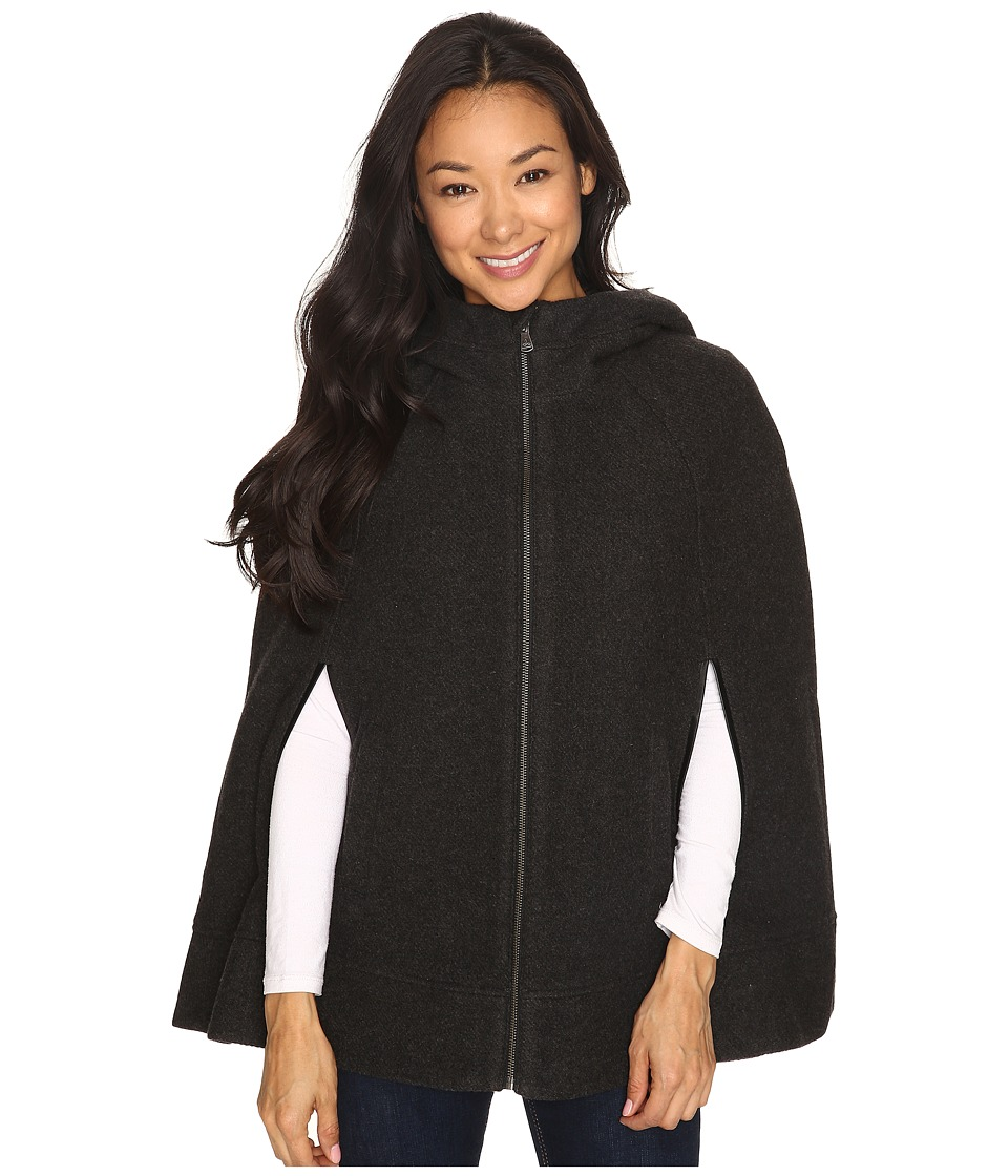 Prana - Whitney Cape (Charcoal Heather) Women's Sweater