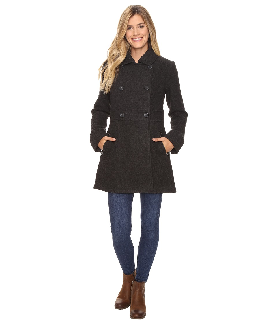 Prana - Nicole Jacket (Charcoal Heather) Women's Coat