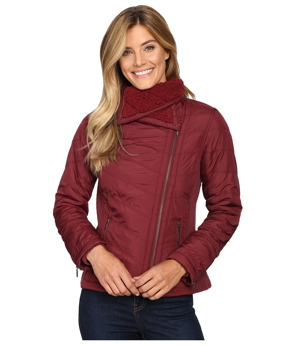 Prana - Diva Jacket (Burgundy) Women's Coat