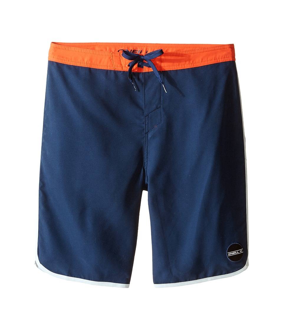 O'Neill Kids - Santa Cruz Scallop Boardshorts (Big Kids) (Dark Navy) Boy's Swimwear
