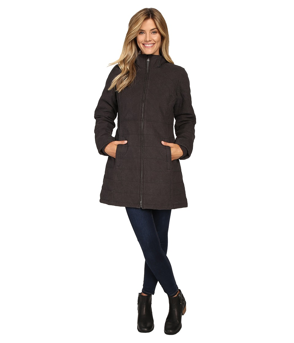 Prana - Inna Jacket (Charcoal) Women's Coat