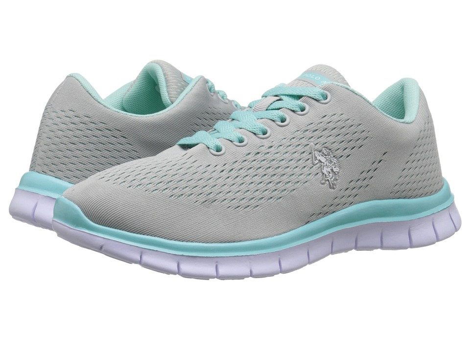 U.S. POLO ASSN. - Janis (Grey/Mint/White) Women