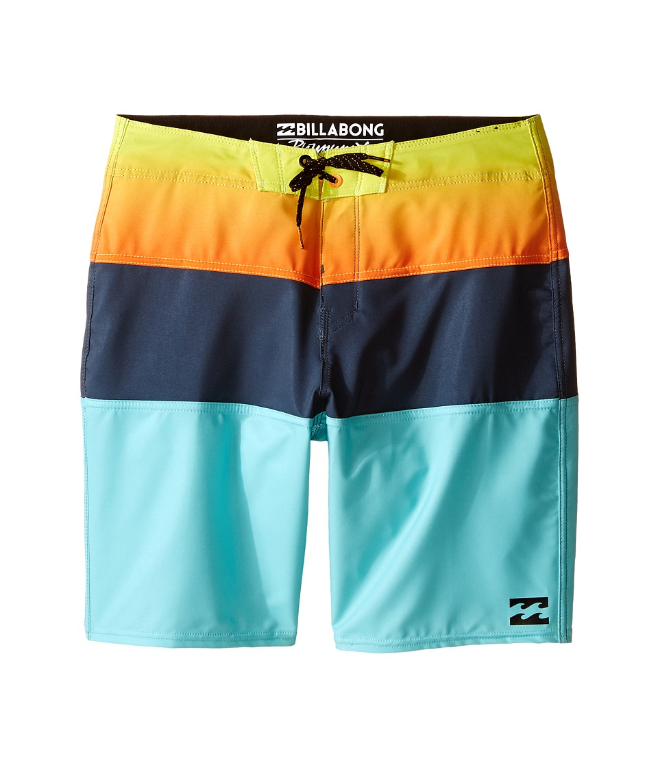 Billabong Kids - Tribong X Boardshorts (Big Kids) (Mint) Boy's Swimwear