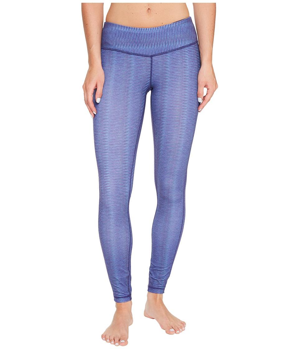 Prana - Misty Legging (Bluebell Ziggie) Women's Workout