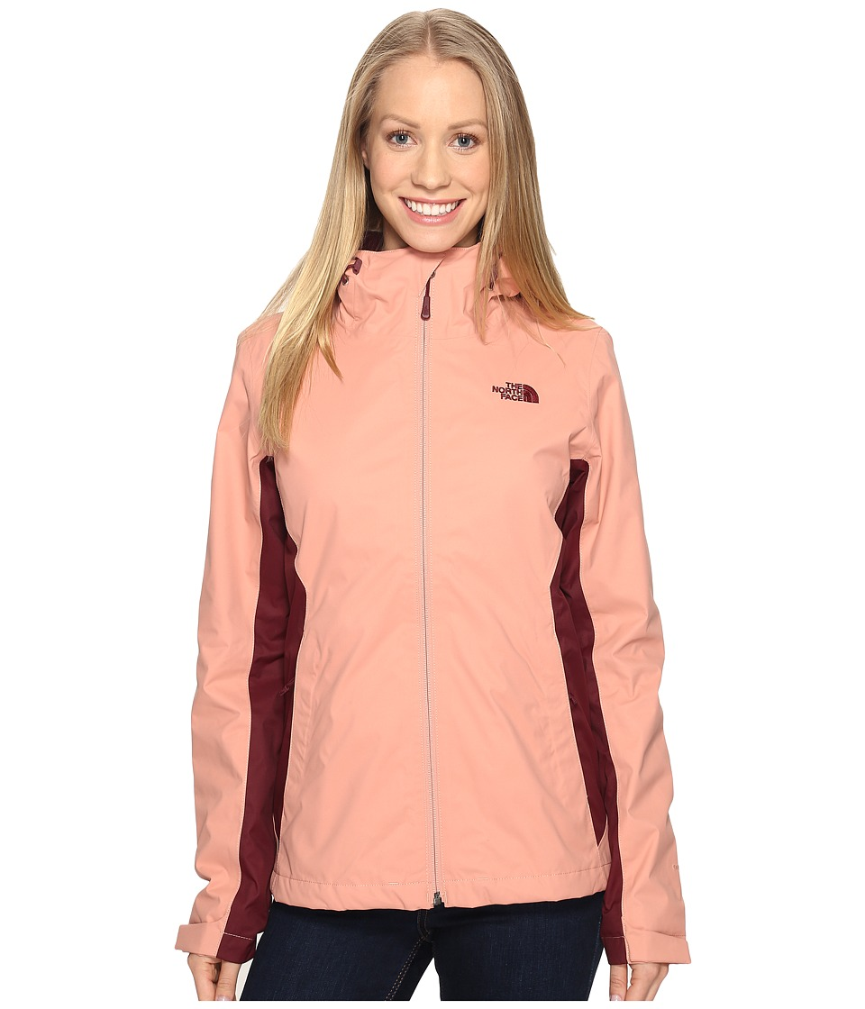 The North Face - Arrowood TriClimate(r) Jacket (Rose Dawn/Deep Garnet Red (Prior Season)) Women's Coat