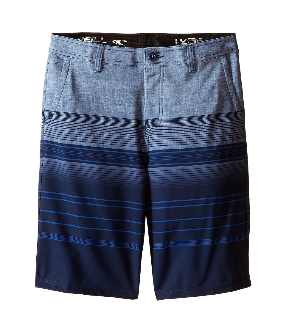 O'Neill Kids - Royal Stripe Boardshorts (Big Kids) (Blue) Boy's Swimwear