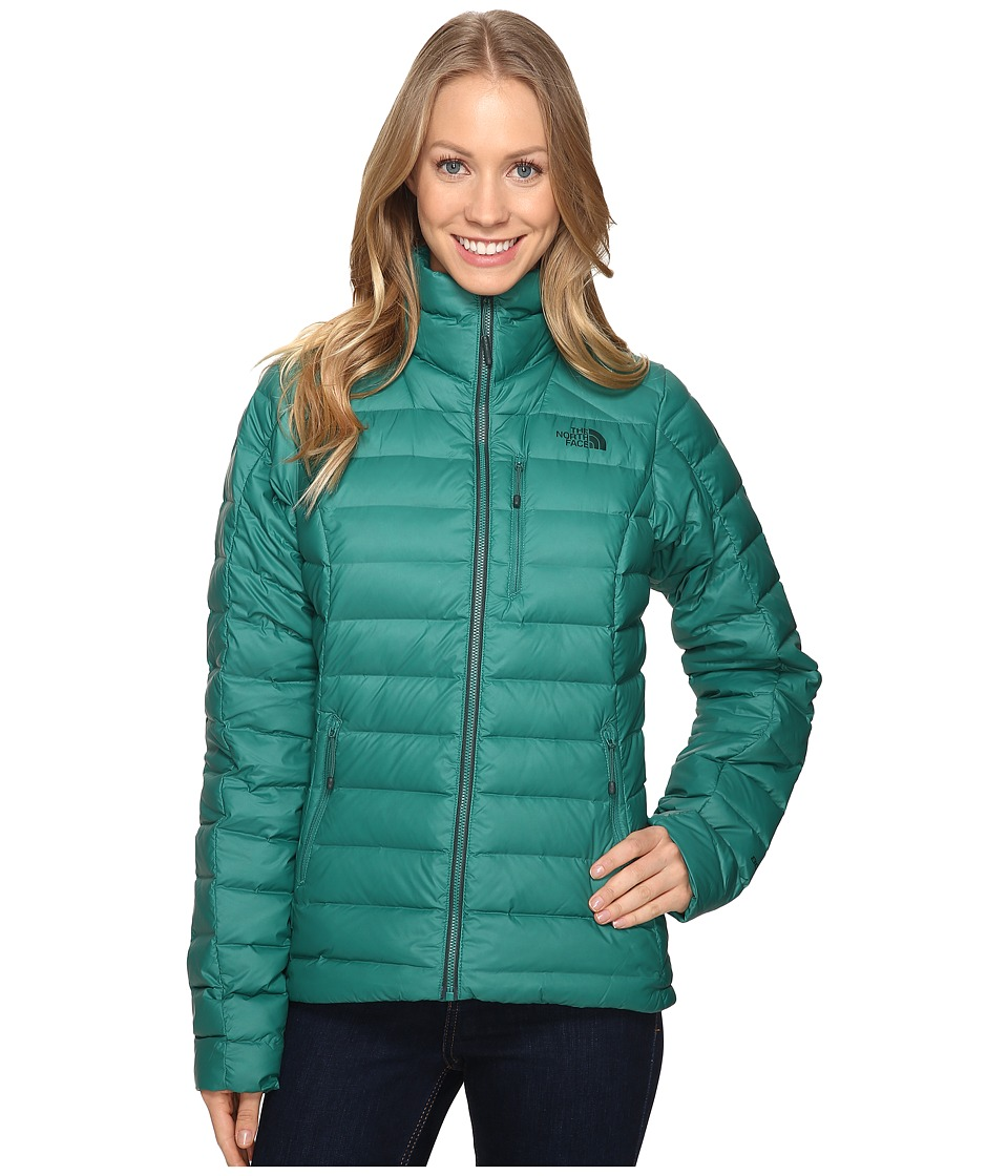 The North Face - Polymorph Jacket (Conifer Teal) Women's Coat