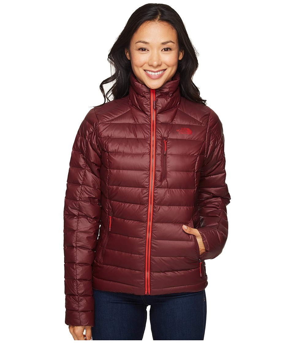 The North Face - Polymorph Jacket (Deep Garnet Red) Women's Coat