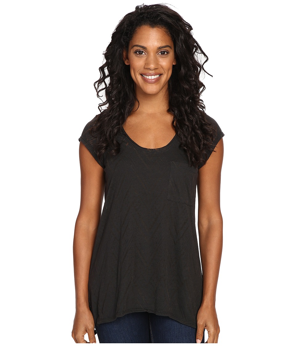 Prana - Skyler Top (Black) Women's Clothing
