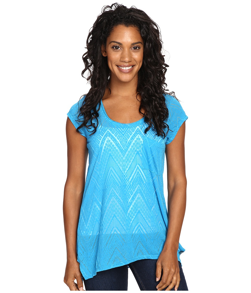 Prana - Skyler Top (Electro Blue) Women's Clothing