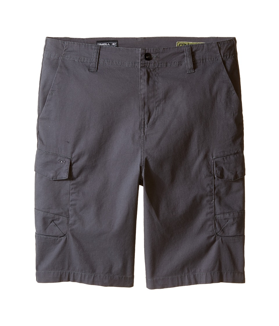 O'Neill Kids - Black Hawk Cargo Shorts (Big Kids) (Dark Charcoal) Boy's Shorts