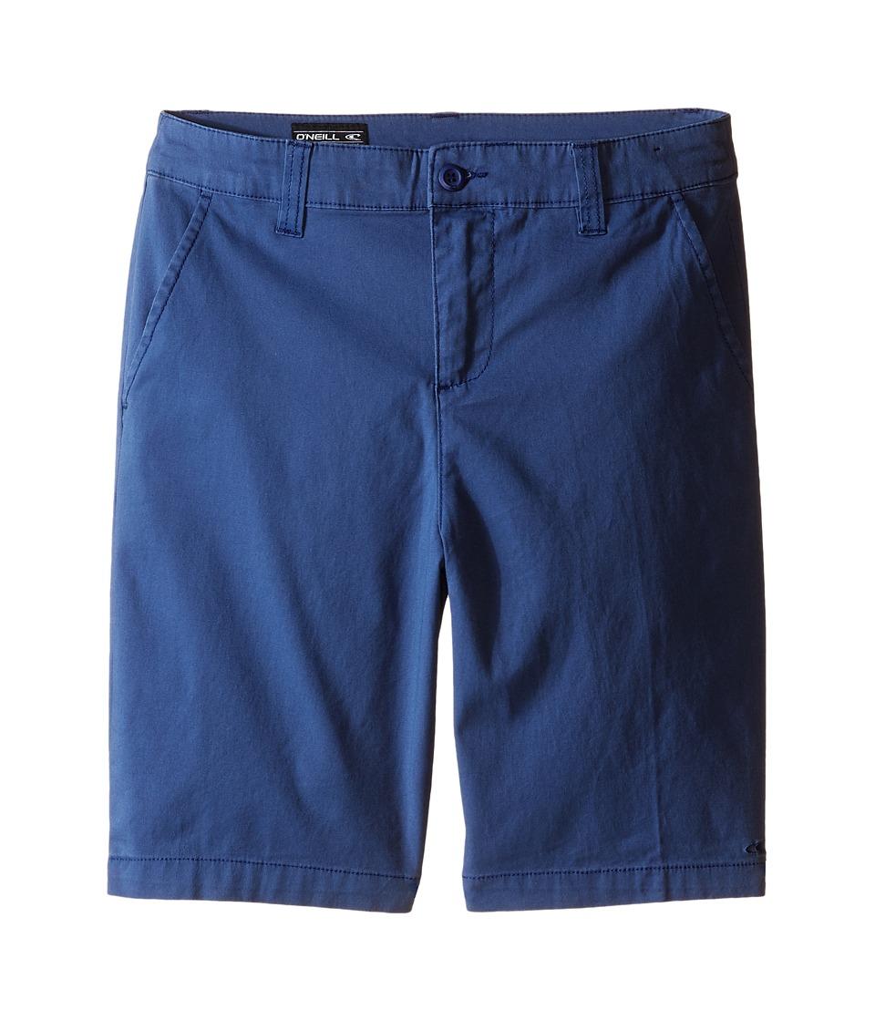 O'Neill Kids - Contact Stretch Shorts (Big Kids) (Blue) Boy's Shorts