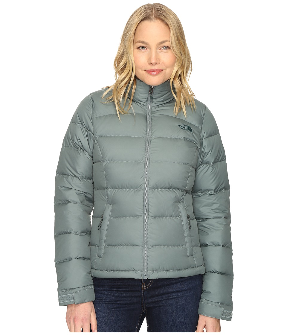 The North Face - Nuptse 2 Jacket (Balsam Green) Women's Coat