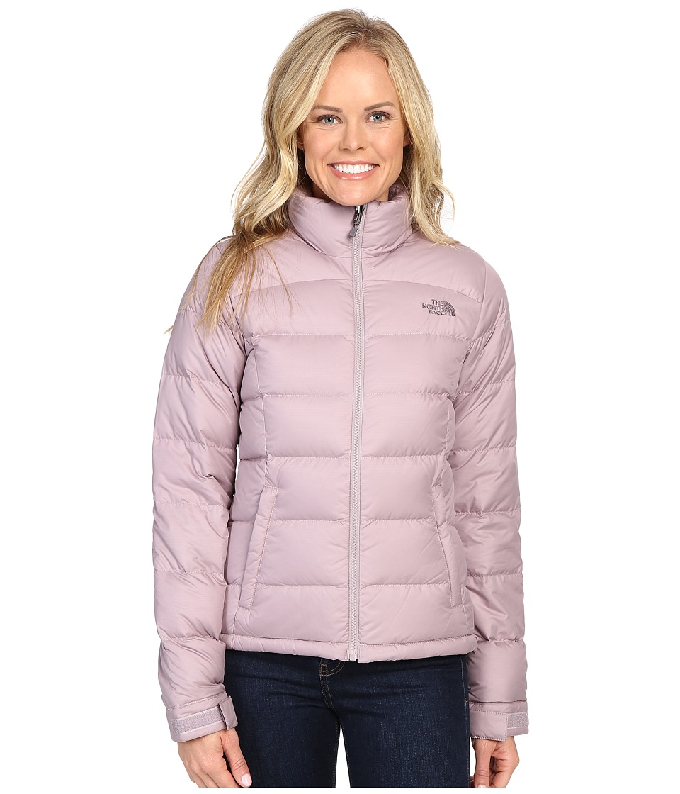 The North Face - Nuptse 2 Jacket (Quail Grey) Women's Coat