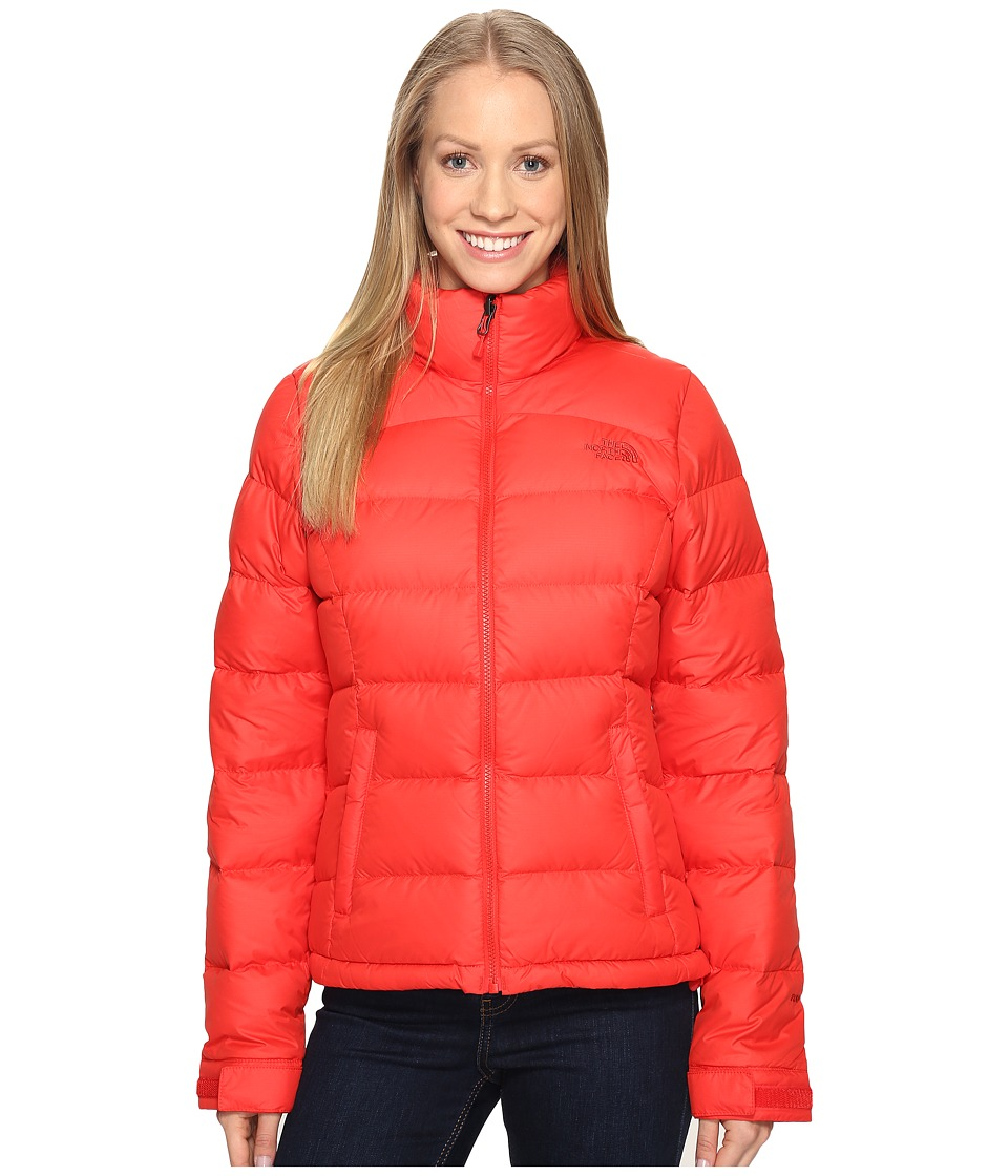 The North Face - Nuptse 2 Jacket (High Risk Red (Prior Season)) Women's Coat
