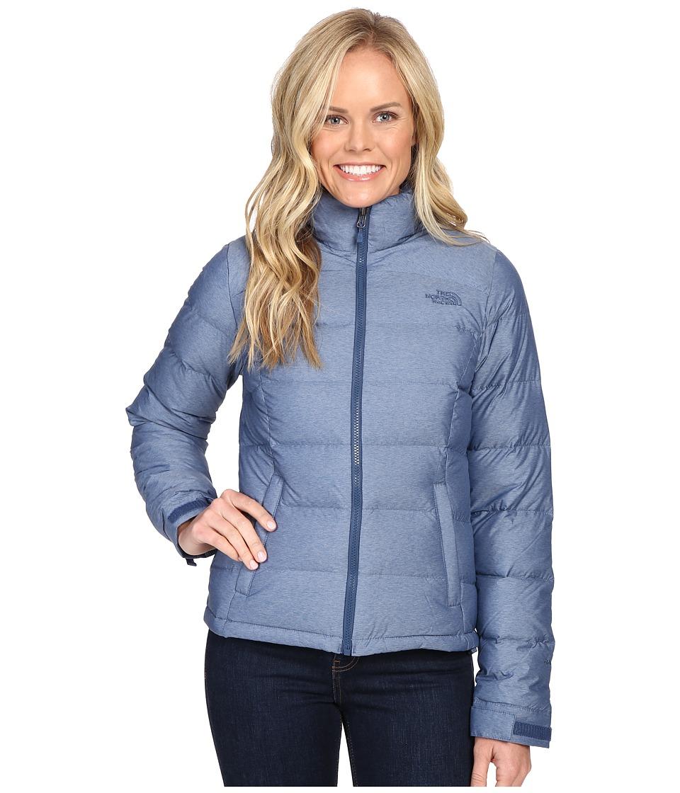 The North Face Nuptse 2 Jacket (Shady Blue Heather) Women