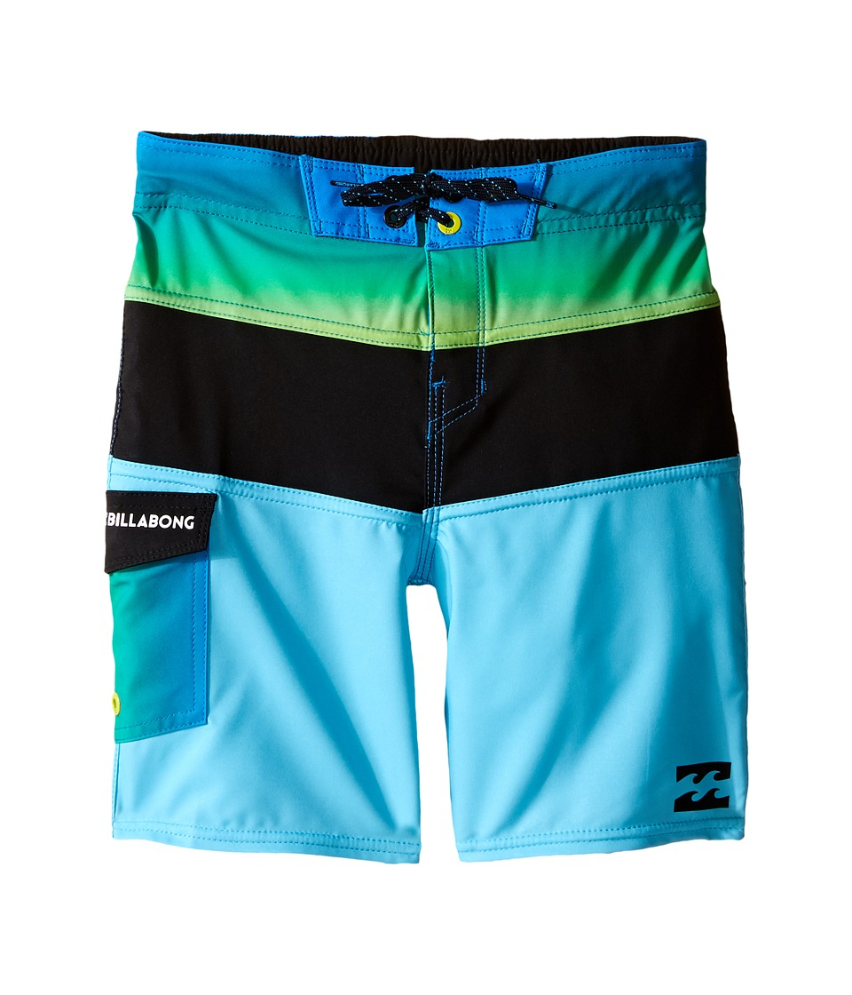 Billabong Kids - Tribong X Boardshorts (Toddler/Little Kids) (Blue) Boy's Swimwear