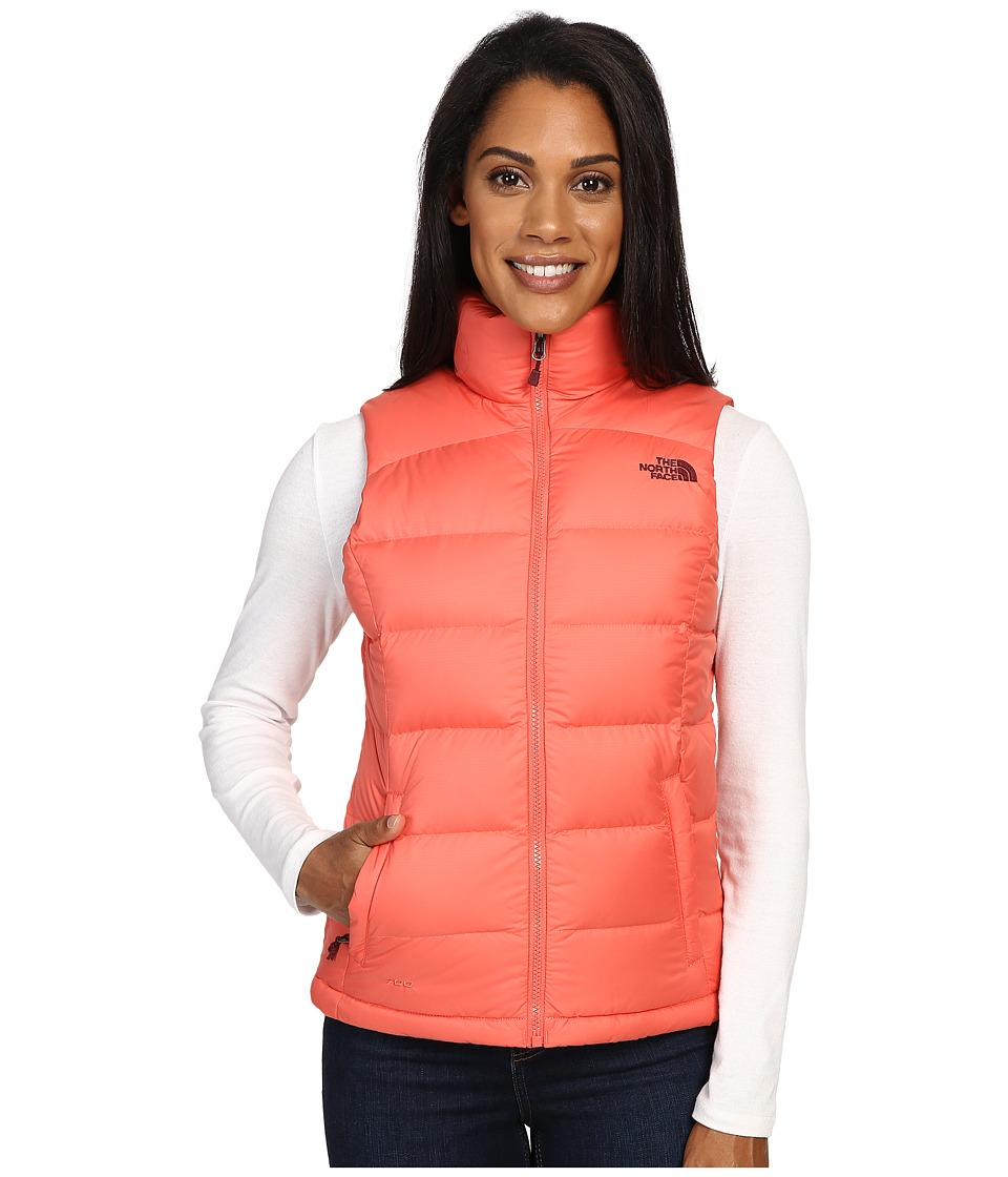 The North Face - Nuptse 2 Vest (Spiced Coral) Women's Vest