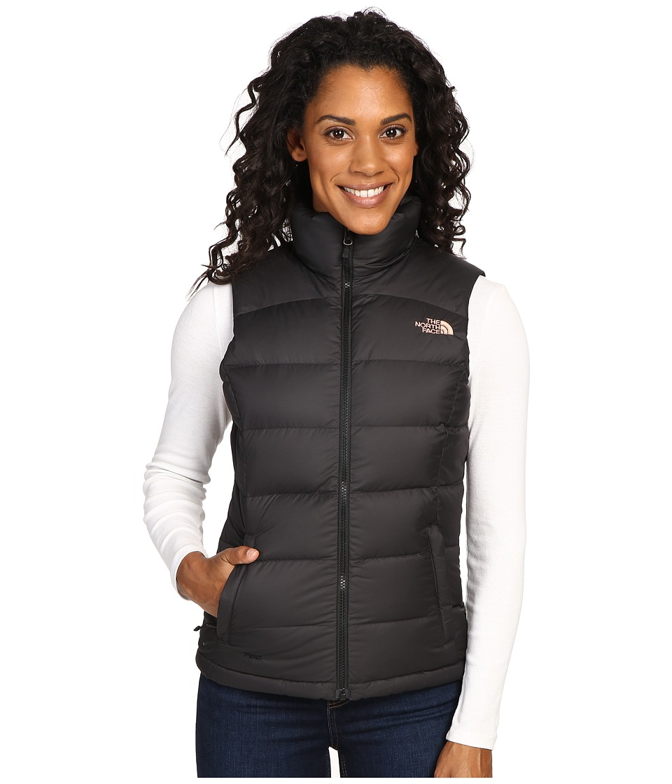 The North Face - Nuptse 2 Vest (TNF Black/Rose Dawn) Women's Vest