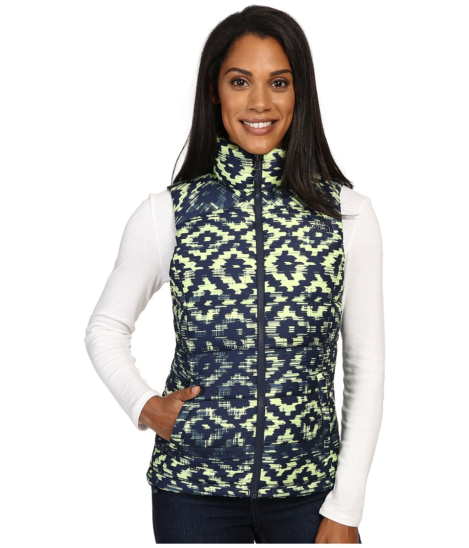 The North Face - Nuptse 2 Vest (Cosmic Blue D-Kat Print) Women's Vest
