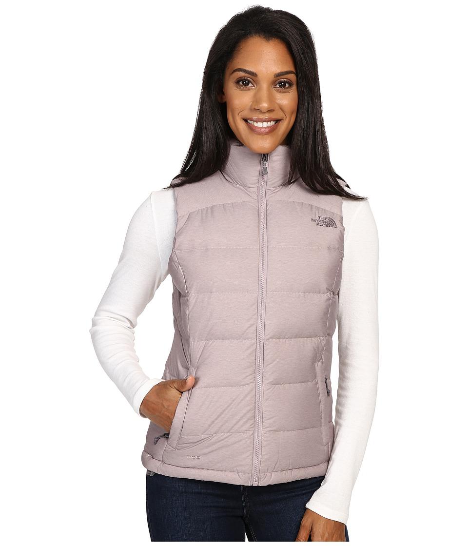 The North Face Nuptse 2 Vest (Quail Grey Heather) Women