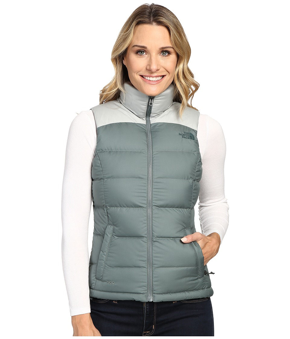 The North Face - Nuptse 2 Vest (Balsam Green/Wrought Iron) Women's Vest