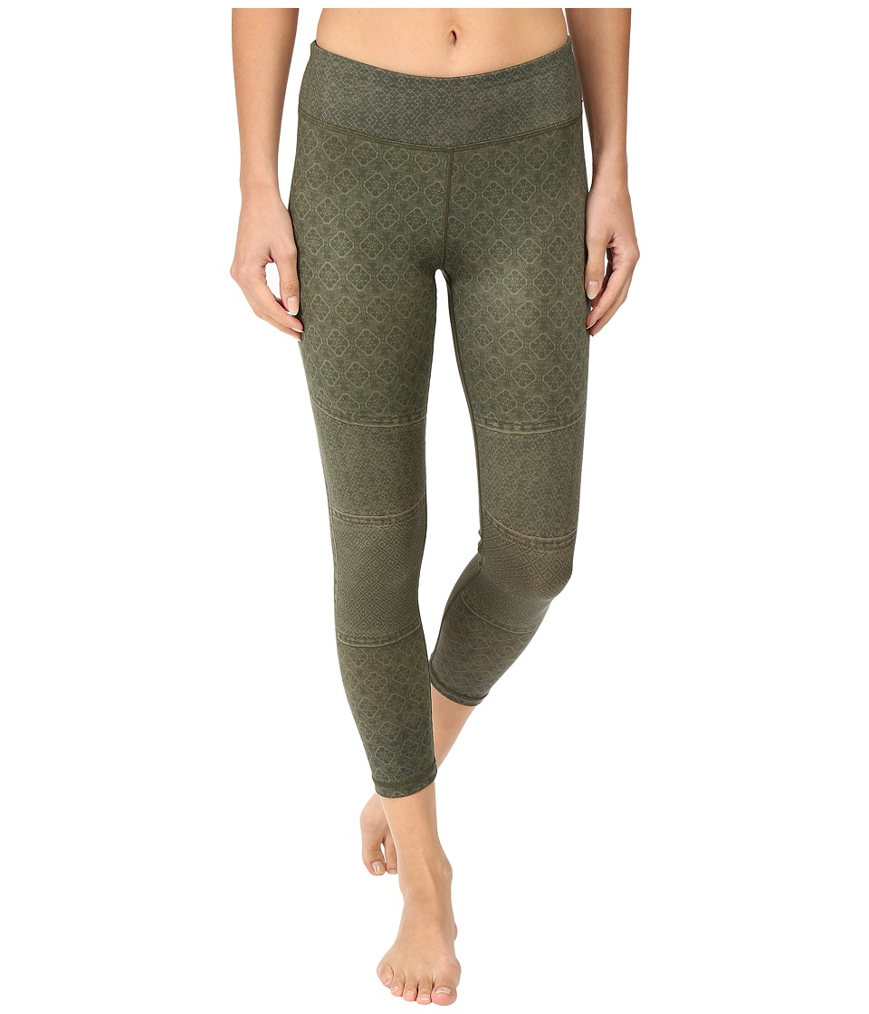 Prana - Roxanne Printed Legging (Cargo Moto) Women's Casual Pants