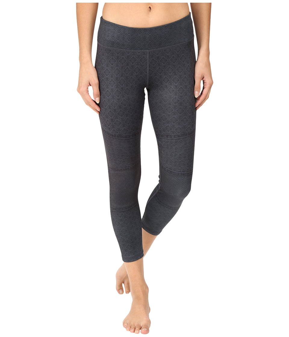 Prana - Roxanne Printed Legging (Charcoal Moto) Women's Casual Pants