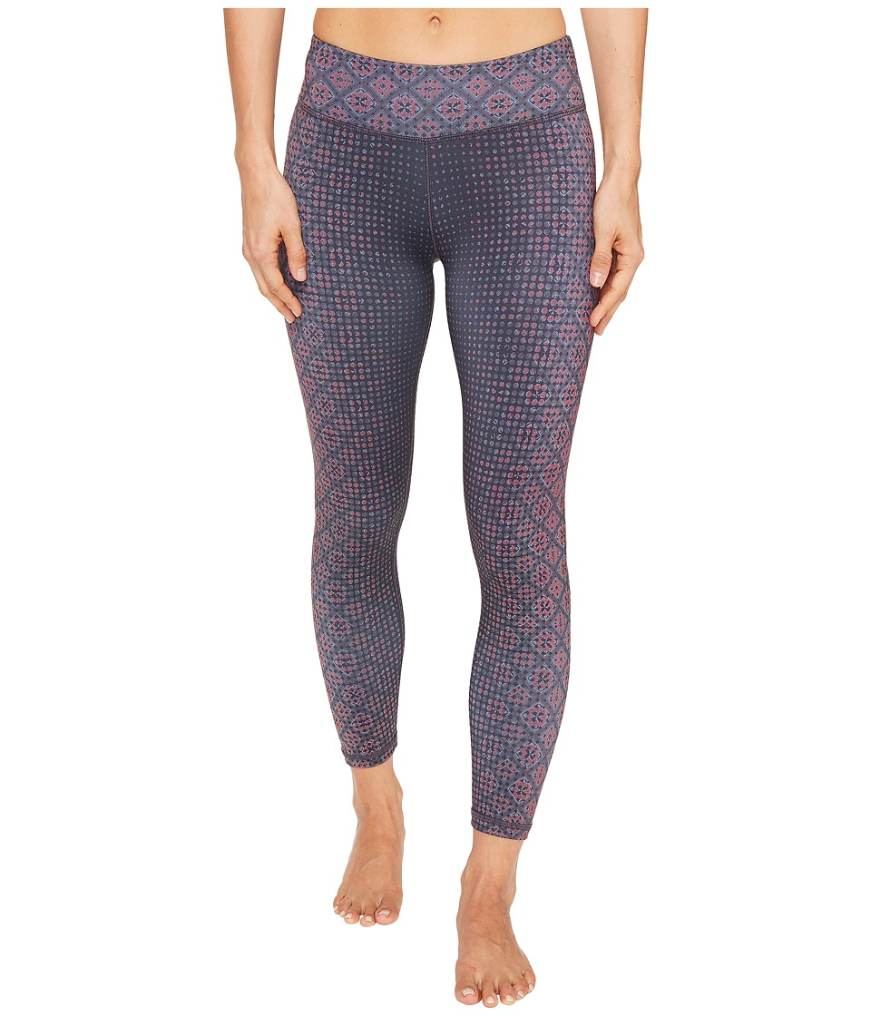 Prana - Roxanne Printed Legging (Neon Orange Bali) Women's Casual Pants