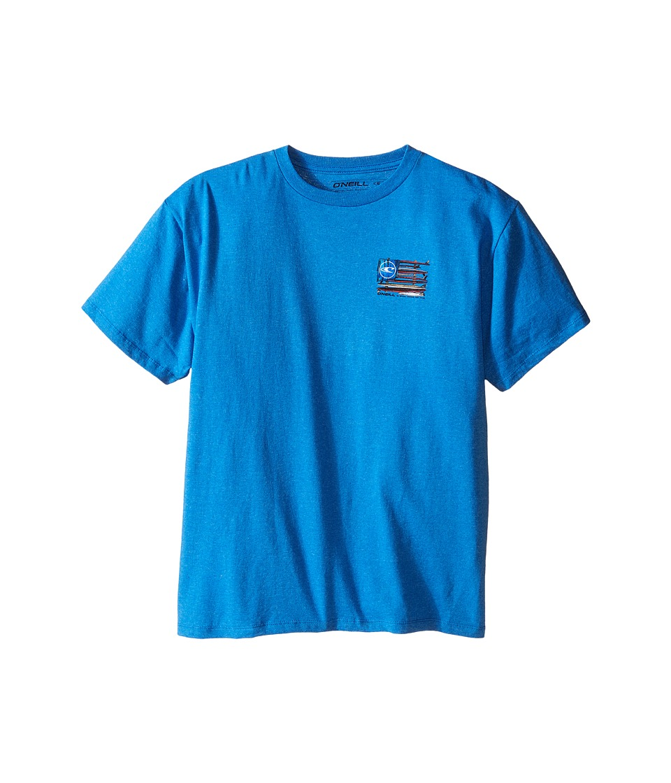 O'Neill Kids - United Tee (Big Kids) (Sea Blue) Boy's T Shirt