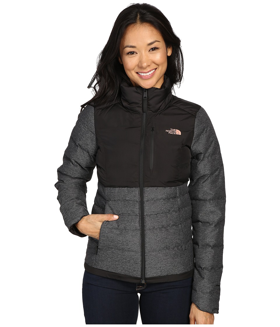 The North Face - Denali Down Jacket (TNF Black/Rose Dawn) Women's Coat