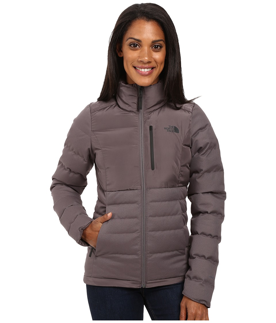 The North Face - Denali Down Jacket (Rabbit Grey) Women's Coat