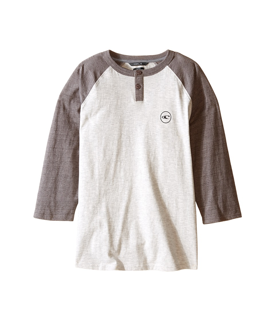 O'Neill Kids - The Bay Henley (Big Kids) (White) Boy's Clothing
